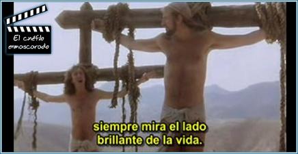 La crucifixión de Brian.