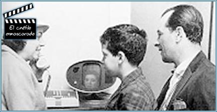 Demostracion de videoconferencia en la Feria mundial de Nueva York en 1964