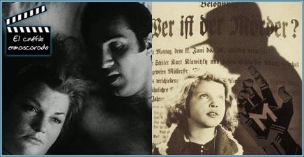 """""""Los asesinos de la luna de miel"""" y """"M, el vampiro de Düsseldorf"""""""