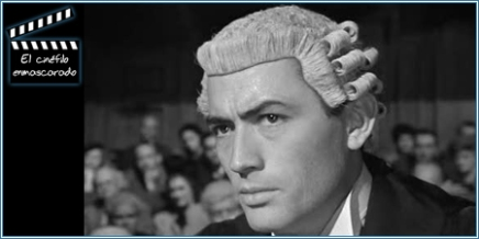 Gregory Peck, defensor de la Sra. Paradine