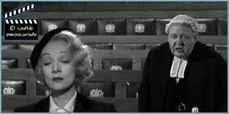 Marlene Dietrich prestando testimonio