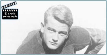 El joven Marion en sus años de futbolista
