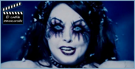"""Mag """"la Ciega"""", interpretada por Sarah Brightman."""
