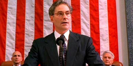 "Kevin Kline en ""Dave. Presidente por un día"""