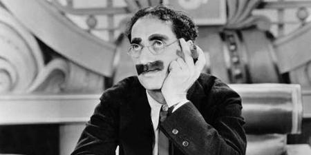 """Groucho Marx en """"Sopa de Ganso"""""""