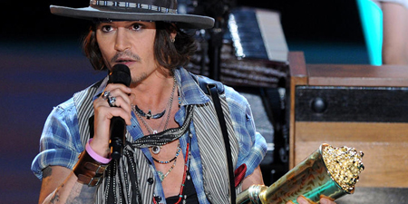 Johnny Depp - MTV Movie Awards