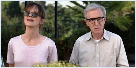 Judy Davis y Woody Allen