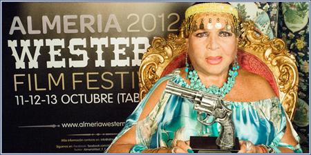Sara Montiel en el Almería Western Film Festival 2012