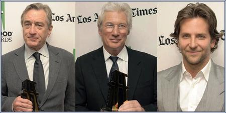 Robert De Niro, Richard Gere y Bradley Cooper