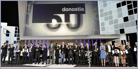 Premiados en el Festival de San Sebastián 2012