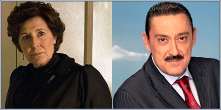 Concha Velasco y Mariano Peña