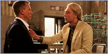 James Bond y Raoul Silva, Skyfall