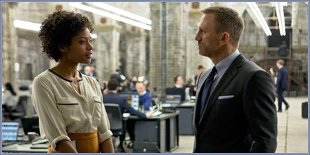 Eve Moneypenny y James Bond, Skyfall