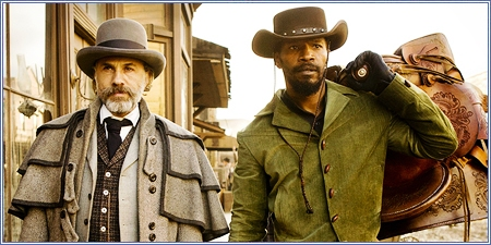 Christoph Waltz y Jamie Foxx, Django desencadenado