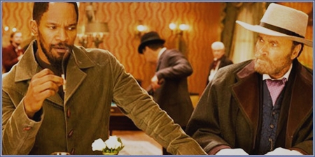 Jamie Foxx y Franco Nero, Django desencadenado