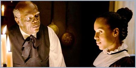 Samuel L. Jackson y Kerry Washington, Django desencadenado