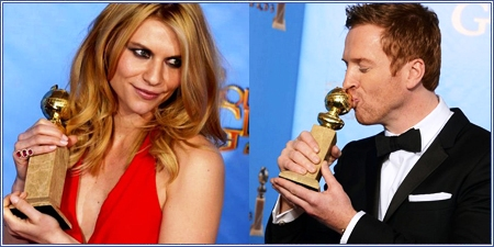 """Claire Danes y Damian Lewis por """"Homeland"""""""