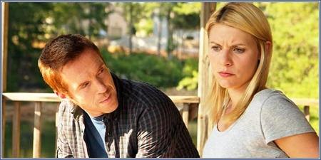 Nicolas Brody y Carrie Mathison, Homeland