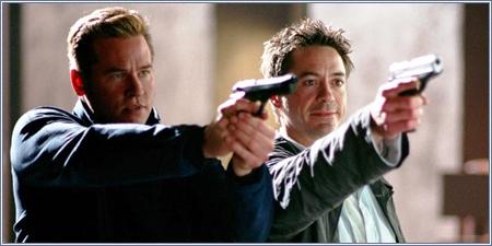 Val Kilmer y Robert Downey Jr.