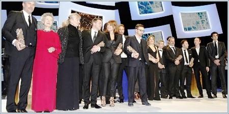 Galardonados premios César 2013