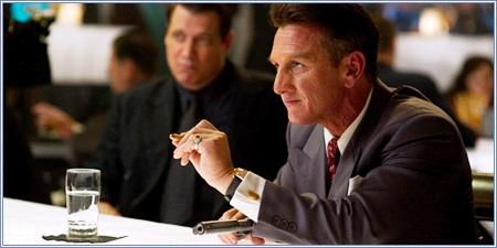 """Sean Penn como Mickey Cohen, """"Gangster squad. Brigada de élite"""""""