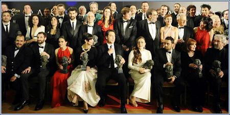 Ganadores de la XXVII edición de los Premios Goya