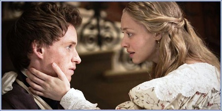 Eddie Redmayne y Amanda Seyfried, Los miserables