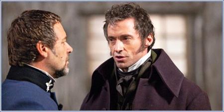 El inspector Javert y Jean Valjean, Los miserables