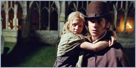 Cosette y Jean Valjean, Los miserables