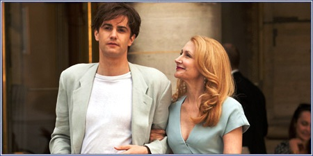 "Jim Sturgess y Patricia Clarkson, ""One day"""