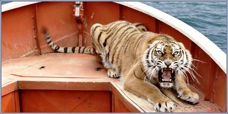 El tigre Richard Parker
