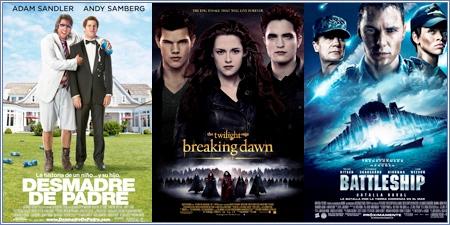 Las peores películas del año 2012 para Razzie