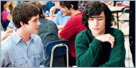 Logan Lerman y Ezra Miller