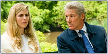 Brit Marling y Richard Gere, El fraude