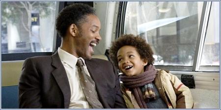 Will y Jaden Smith, En busca de la felicidad