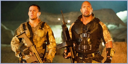 Channing Tatum y Dwayne Johnson, G.I. Joe: La venganza