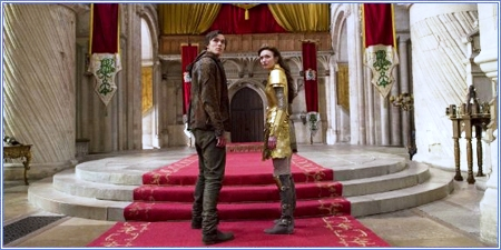 Jack e Isabelle (Nicholas Hoult y Eleanor Tomlinson)