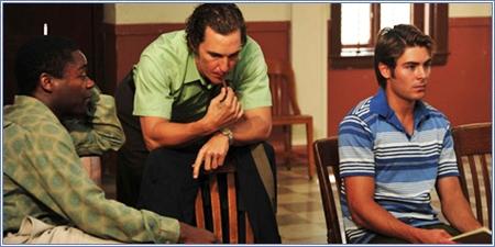 David Oyelowo, Matthew McConaughey y Zac Efron
