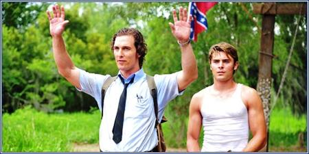 Matthew McConaughey y Zac Efron, El chico del periódico