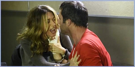 Natalie Zea y James Purefoy, The following