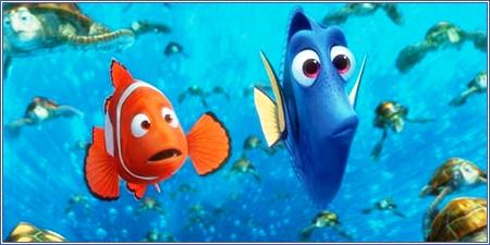Marlin y Dory, Buscando a Nemo