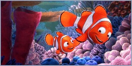 Nemo y Marlin, Buscando a Nemo