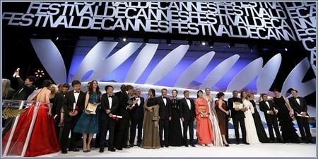 Premiados en la 66ª edición del Festival de Cannes