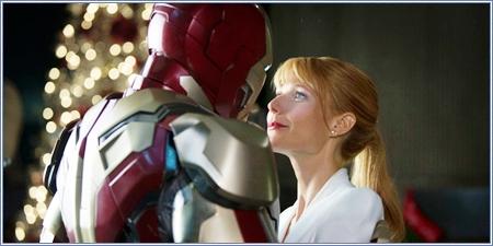 Iron Man y Pepper Potts