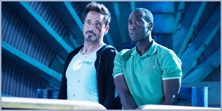 Robert Downey Jr. y Don Cheadle