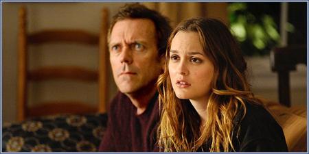 Hugh Laurie y Leighton Meester