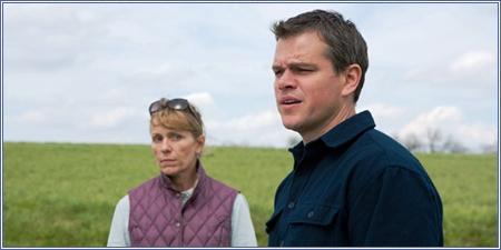 Frances McDormand y Matt Damon, Tierra prometida