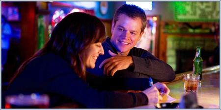 Rosemarie DeWitt y Matt Damon, Tierra prometida