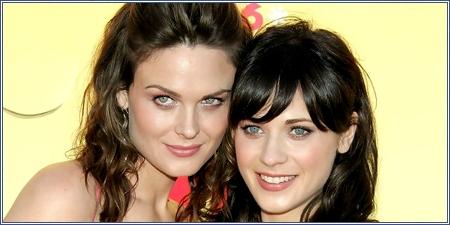 Emily y Zooey Deschanel
