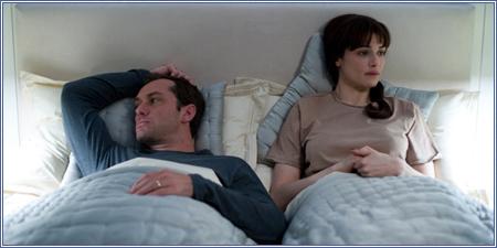 Jude Law y Rachel Weisz